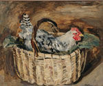 Cock in a Basket. 1930